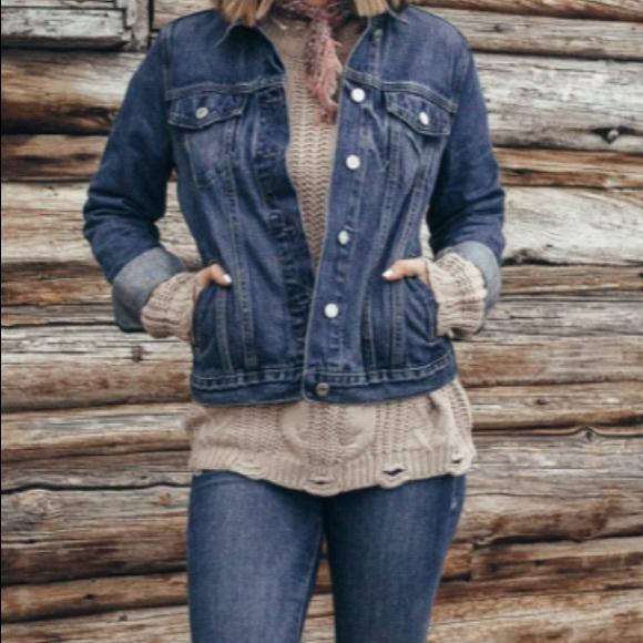 Levi's Trucker jean Jacket size L